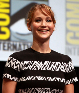 Jennifer Lawrence by Gage Skidmore at Comic Con 2013